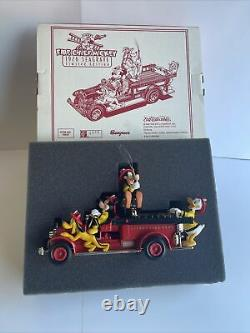 1926 Seagrave Fire Engine ERTL Die Cast Disney Fire Chief Mickey & Characters