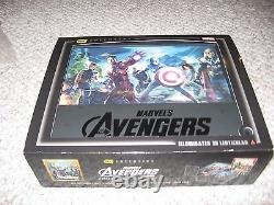 Avengers Best Buy Exclusive Illuminated 3D Lenticular Case Ultimate Character