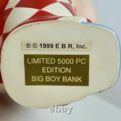 Big Boy Hamburger Restaurant Limited Edition Figure Bank Advertising Character