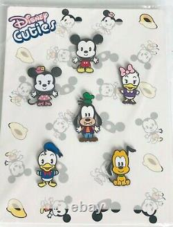 Disney Cuties Collectible Pins Limited Edition 1000 set of six main characters