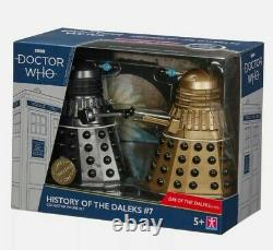 Doctor Who History of the Daleks sets 5 & 7, Limited Edition Collectors item