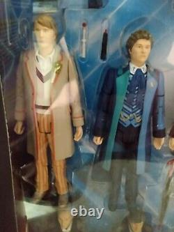 Doctor Who Thirteen Doctors Collector Figure Set Rare & Limited Edition Dr BNIB