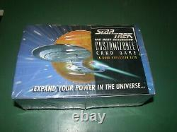 FACTORY SEALED Star Trek The Next Generation CCG limited edition booster box