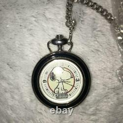 FOSSIL Snoopy Pocket Watch Limited Edition Character Goods Fashion