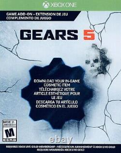 Gears 5 Ice Kait Character Skin Limited Edition DLC ONLY FREE SHIPPING