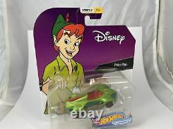 HOT WHEELS PETER PAN Character Cars 2017 Series 2 #2 of 6 New in Box Limited Ed