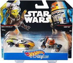 Hot Wheels Star Wars Character Cars Hera Syndulla & Chopper (VERY RARE)
