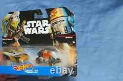 Hot Wheels Star Wars Rebels Character Cars Hera Syndulla & Chopper Set 1/64