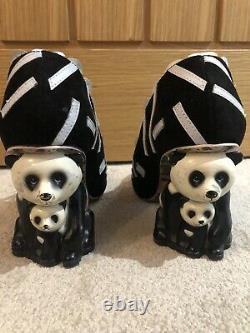 Irregular Choice 37 4 Panda Character Heel Yang Guang Small Fitting