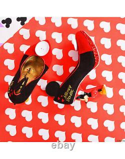 Irregular Choice Disney Mickey Mouse Limited Edition Character Heels Shoes