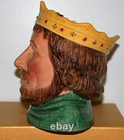 Large Royal Doulton Character Jug King John D7125 Limited Edition