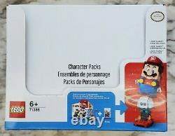Lego Super Mario Character Packs Series 2 Box / Case of 20 71386 Ships Fast