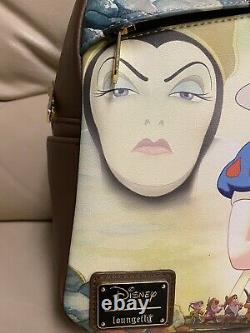Loungefly DEC Snow White Mini Backpack LE-Exclusive-IN HAND! AWESOME BAG RARE