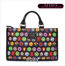 Loungefly Marvel Comics Avengers Character icon Handbag Japan limited edition