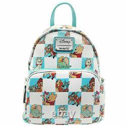 Loungefly X Disney Friends Checker Character Mint Mini Backpack WDBK1214