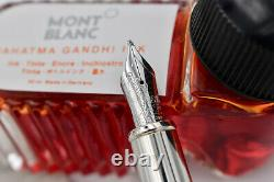 MONTBLANC 2009 Great Characters Mahatma Gandhi Limited Edition 0041/3000 + Ink B