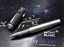 MONTBLANC 2012 Great Characters Albert Einstein Limited Edit 1500 Rollerball Pen