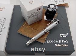 MONTBLANC Leonardo da Vinci Fountain Pen Great Characters Limited Edition 3000 M