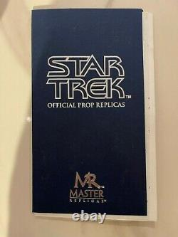 Master Replicas Star Trek First Contact Phaser Limited Edition No. 719/1500