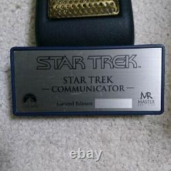 Master Replicas Star Trek TOS Communicator Limited Edition Prop