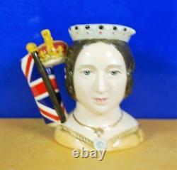 Medium Royal Doulton Character Jug Queen Victoria D7072 Limited Edition