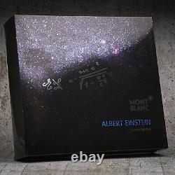 Montblanc Great Characters Limited Edition Albert Einstein Roller Ball ID 109147