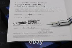 Montblanc Great Characters Miles Davis Limited Edition Fountain Pen SEALED