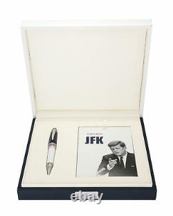 Montblanc JFK Great Characters Limited Edition Of 1917 White Ballpoint 111635