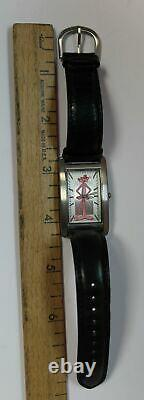 NOS 1998 Fossil Limited Edition Pink Panther Character Watch LI-1652 Unisex