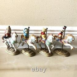 New England Collectors Society Disney Character Carousel Limited Edition