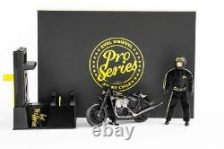 PRO SERIES EVEL KNIEVEL Limited Edition Stunt Cycle Bike 70's Daredevil IN STOCK