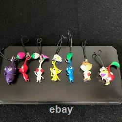 Pikmin strap 7characters set Limited Edition Nintendo Japan Very rare DS85