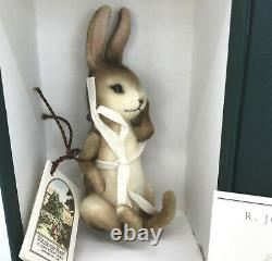 R John Wright Pocket Pooh Rabbit Character 5.5in LE3500 1998 Mohair Boxed Cert