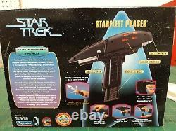 Rare Star Trek Type II Starfleet Phaser Playmates Limited Edition Lights Sounds