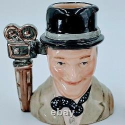 Royal Doulton Character Jugs Laurel & Hardy. Limited Edition. 5. Pre-owned