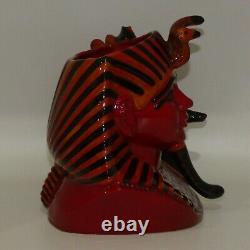 Royal Doulton large Limited Edition character jug The Pharaoh D7028 Flambe