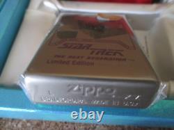 STAR TREK THE NEXT GENERATION Zippo Limited Edition BORG CUBE Dec. 1999 RARE F/S
