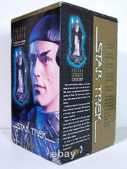 STAR TREK VULCAN LEADER Limited Edition Cold Cast Resin Statue Playmates RARE