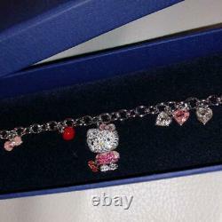 SWAROVSKI Swarovski Hello Kitty Charm Bracelet Limited Edition Character Sanrio