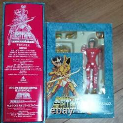 Saint Seiya THE MOVIE BOX First Limited Edition 4 Disc Character Goods Toy