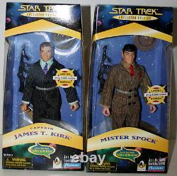 Star Trek Limited Edition Mister Spock & James T. Kirk A Piece Of The Action