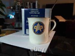 Star Trek Pfaltzgraff USS Enterprise 1701-D Buffet Set and Bone China Cup NIB