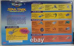 Star Trek Set Of 16 Micromachines. Limited Edition Collectors Set