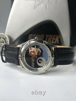 Star Trek USS ENTERPRISE Limited Edition Fossil Watch & Display Box