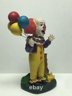 Tim Curry Signed'IT Pennywise' 8 Character Bobblehead Limited Edition Beckett