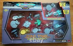 Very Rare 1995 Star Trek Micro Machines Special Limited Edition II Set. Galoob