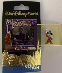 WDW Characters Sliders Fantasmic /1000 Limited Edition LE Mickey MM Disney
