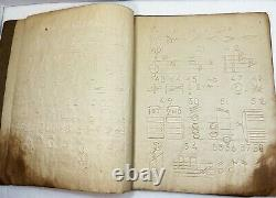 X RARE Book 1879 Musical Characters For Blind Braille music Only 2 known