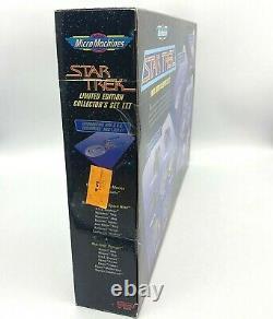 1996 Galoob Micro Machines Star Trek Edition Limitée Ensemble Collectors III #004227