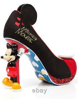 Choix Irrégulier Disney Mickey Mouse Edition Limitée Talons De Caractère Chaussures